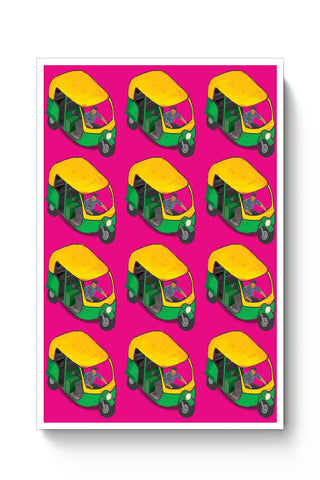 Posters Online | Kitsch Auto Wala Poster Online India | Designed by: Idigtype