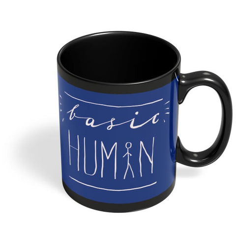 Basic Human Black Coffee Mug Online India