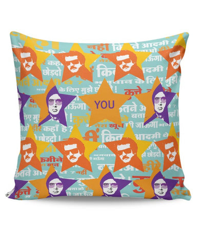 amitabh_Rajnikanth Cushion Cover Online India