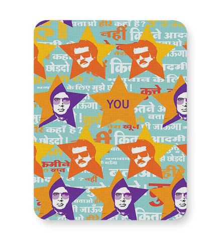 amitabh_Rajnikanth Mousepad Online India