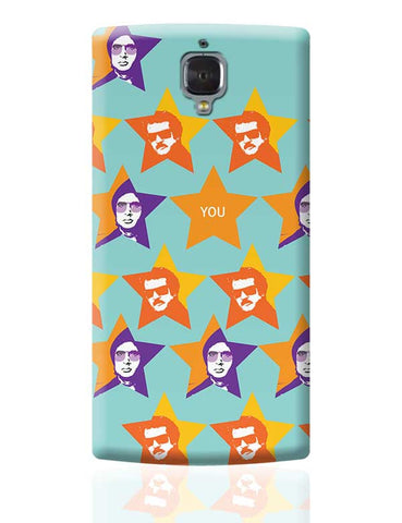 amitabh_Rajnikanth OnePlus 3 Covers Cases Online India
