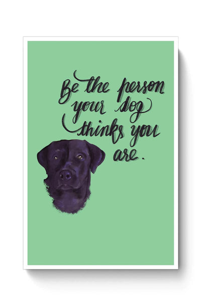 Dog Person Poster Online India