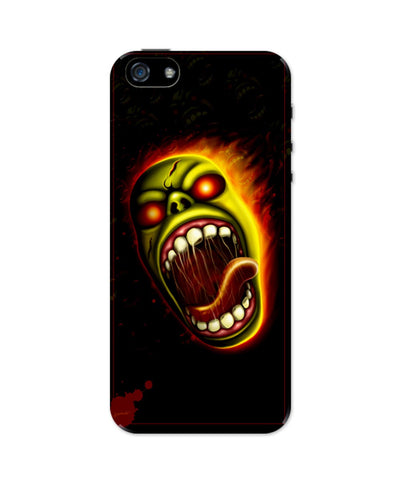 iPhone 5 / 5S Cases & Covers | Furious Character Fire iPhone 5 / 5S Case Online India