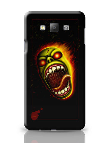 Samsung Galaxy A7 Covers | Furious Character Fire Samsung Galaxy A7 Covers Online India