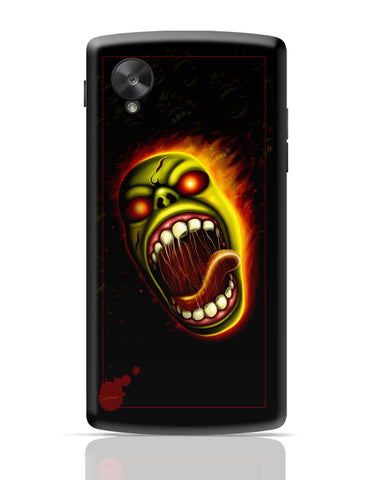 Google Nexus 5 Covers | Furious Character Fire Google Nexus 5 Cover Online India