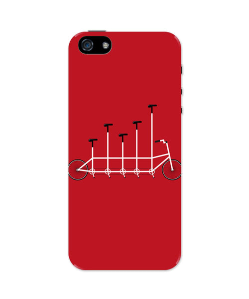 iPhone 5 / 5S Cases & Covers | Cycle Graph Art Illustration iPhone 5 / 5S Case Online India