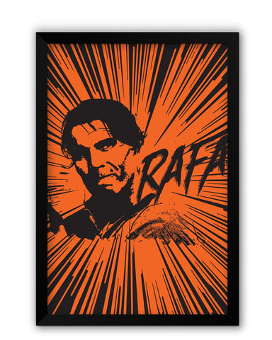 Framed Posters | Rafael Nadal Pop Art Laminated Framed Poster Online India