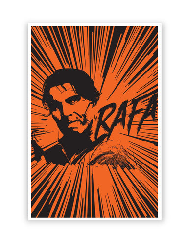 Posters Online | Rafael Nadal Pop Art Poster Online India | Designed by: Ravi Pal