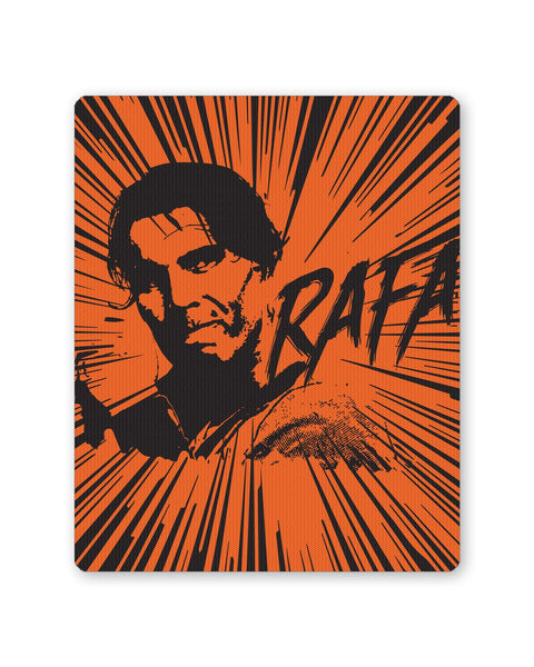 Buy Mousepads Online India | Rafael Nadal Pop Art Mouse Pad Online India