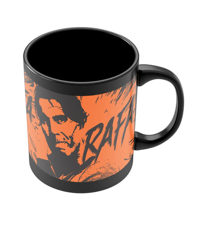 Coffee Mugs Online | Rafael Nadal Pop Art Black Coffee Mug Online India