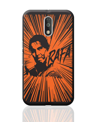 Rafael Nadal Pop Art Moto G4 Plus Online India