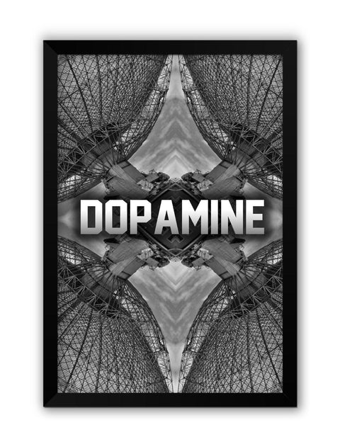 Framed Posters | Dopamine Photographic Illustration Laminated Framed Poster Online India