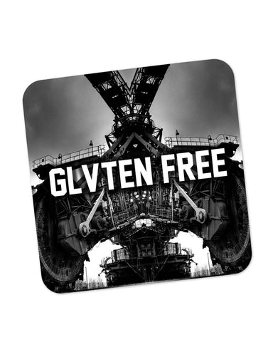 Buy Coasters Online | GLVTEN FREE Photographic Illustration Coaster Online India | PosterGuy.in