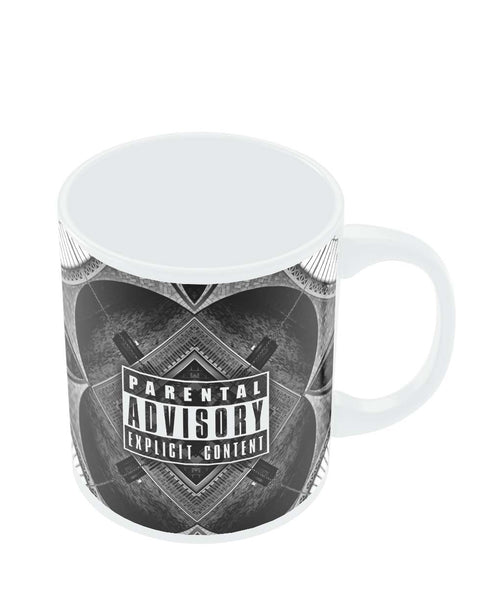 Coffee Mugs Online | Parental Advisory Explicit Content Mug Online India