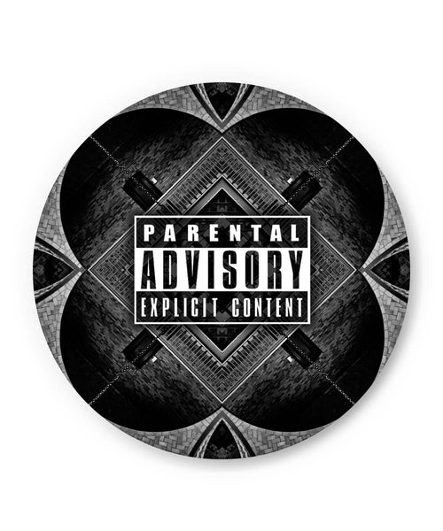 PosterGuy | Parental Advisory Explicit Content Fridge Magnet Online India by Aditya Mehrotra