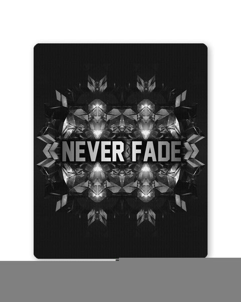 Buy Mousepads Online India | Never Fade | Motivational Illustration Mouse Pad Online India