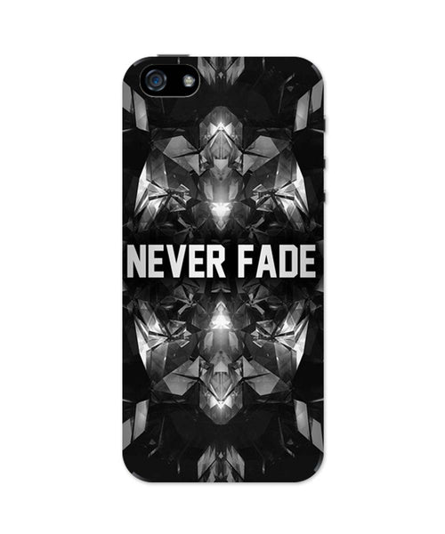 iPhone 5 / 5S Cases & Covers | Never Fade | Motivational Illustration iPhone 5 / 5S Case Online India