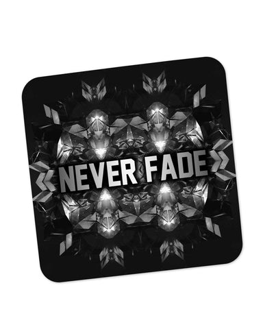 Buy Coasters Online | Never Fade | Motivational Illustration Coaster Online India | PosterGuy.in