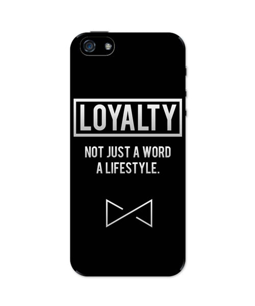 iPhone 5 / 5S Cases & Covers | Loyalty | Not Just A Word Lifestyle iPhone 5 / 5S Case Online India