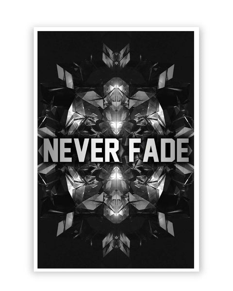 Posters Online | Never Fade Illustration Poster Online India | Designed by: Aditya Mehrotra