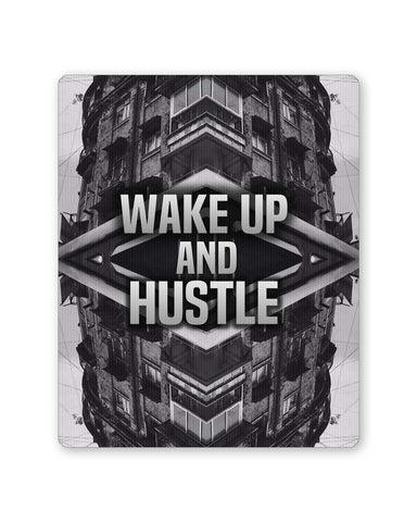 Buy Mousepads Online India | Wake Up And Hustle Motivational Mouse Pad Online India