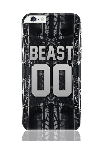 iPhone 6 Plus / 6S Plus Covers & Cases | Beast 00 | Mode Active iPhone 6 Plus / 6S Plus Covers and Cases Online India