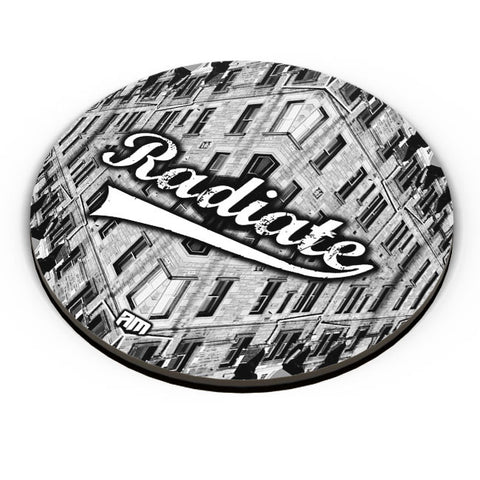 PosterGuy | Radiate Graphic Illustration Fridge Magnet Online India by Aditya Mehrotra