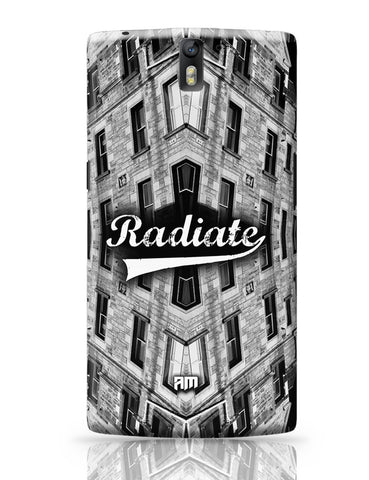 OnePlus One Covers | Radiate Graphic Illustration OnePlus One Cover Online India