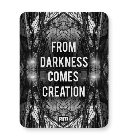 Buy Mousepads Online India | Darkness Graphic Illustration Mouse Pad Online India
