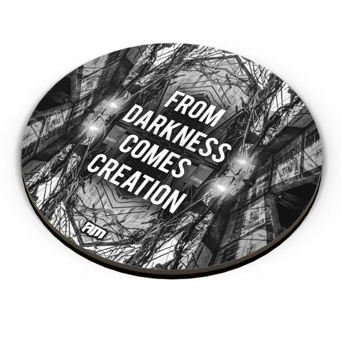 PosterGuy | Darkness Graphic Illustration Fridge Magnet Online India by Aditya Mehrotra