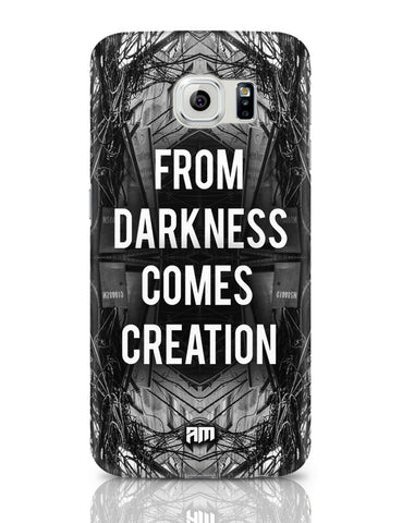 Samsung Galaxy S6 Covers | Darkness Graphic Illustration Samsung Galaxy S6 Covers Online India