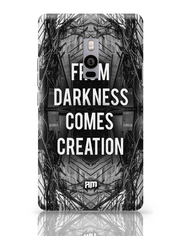 OnePlus Two Covers | Darkness Graphic Illustration OnePlus Two Cover Online India