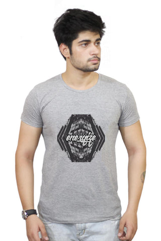 Buy Energize Motivational Illustration T-Shirts Online India | Energize Motivational Illustration T-Shirt | PosterGuy.in