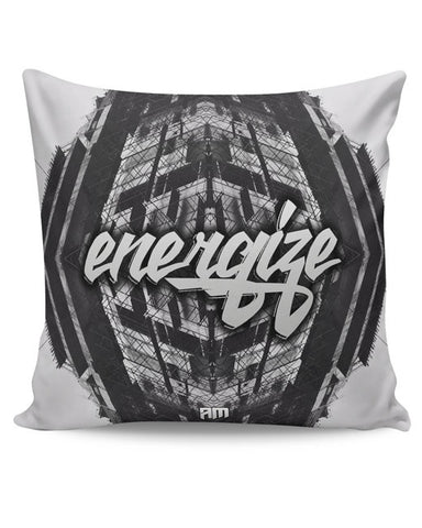 PosterGuy | Energize Motivational Illustration Cushion Cover Online India