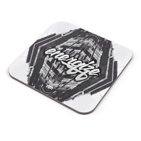 Buy Coasters Online | Energize Motivational Illustration Coaster Online India | PosterGuy.in
