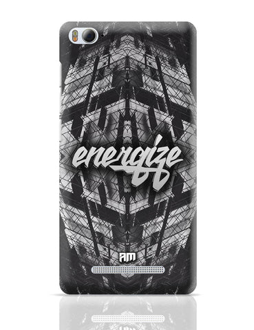 Xiaomi Mi 4i Covers | Energize Motivational Illustration Xiaomi Mi 4i Cover Online India