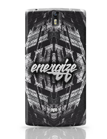 OnePlus One Covers | Energize Motivational Illustration OnePlus One Cover Online India