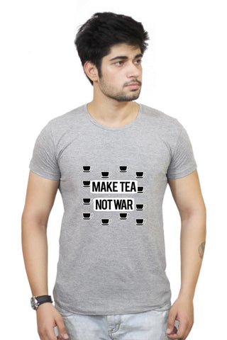 Buy Make Tea Not War T-Shirts Online India | Make Tea Not War T-Shirt | PosterGuy.in
