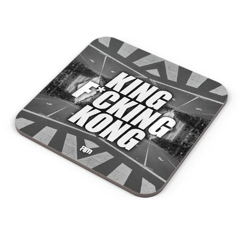 Buy Coasters Online | King F*Cking Kong Coaster Online India | PosterGuy.in