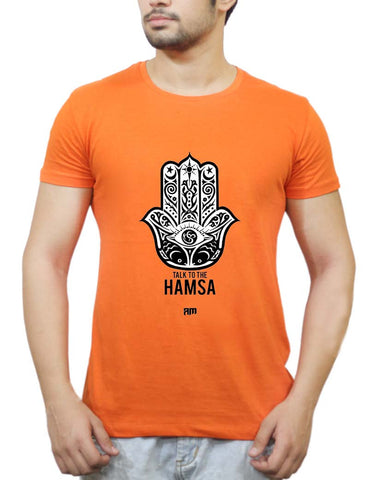 Buy Talk To The Hamsa T-Shirts Online India | Talk To The Hamsa T-Shirt | PosterGuy.in