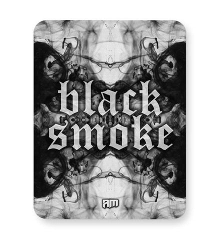 Buy Mousepads Online India | Black Smoke Mouse Pad Online India