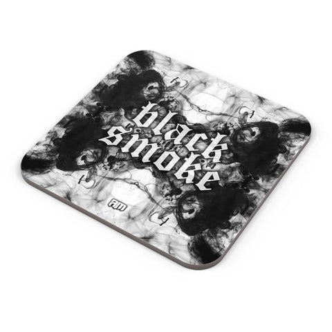 Buy Coasters Online | Black Smoke Coaster Online India | PosterGuy.in