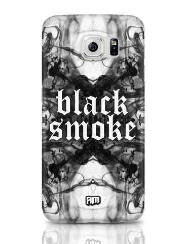 Samsung Galaxy S6 Covers | Black Smoke Samsung Galaxy S6 Case Covers Online India