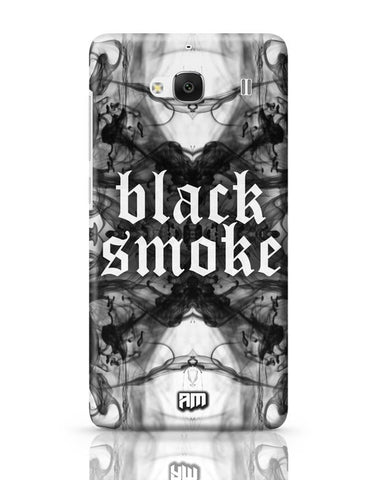 Xiaomi Redmi 2 / Redmi 2 Prime Cover| Black Smoke Redmi 2 / Redmi 2 Prime Case Cover Online India