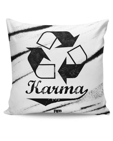 PosterGuy | Karma (Past,Present, Future) Cushion Cover Online India