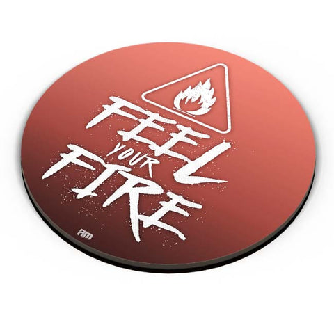 PosterGuy | Feel Your Fire Fridge Magnet Online India by Aditya Mehrotra (AM)