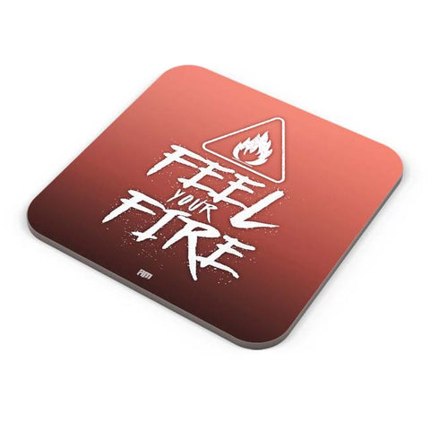 Buy Coasters Online | Feel Your Fire Coaster Online India | PosterGuy.in
