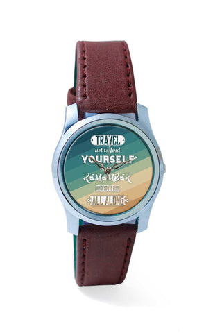 Women Wrist Watch India | Travel Quote Wrist Watch Online India