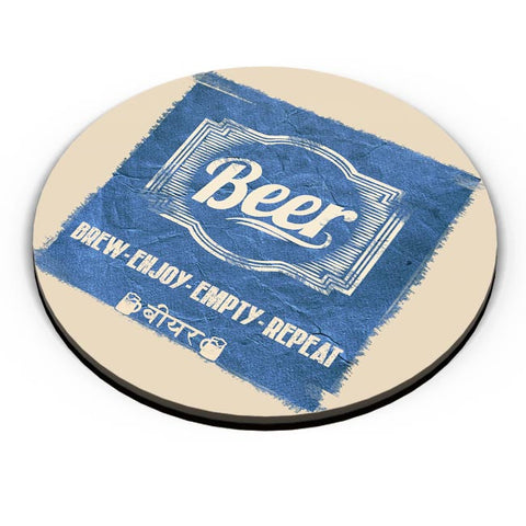 PosterGuy | BEER Fridge Magnet Online India by Aditya Mehrotra AM