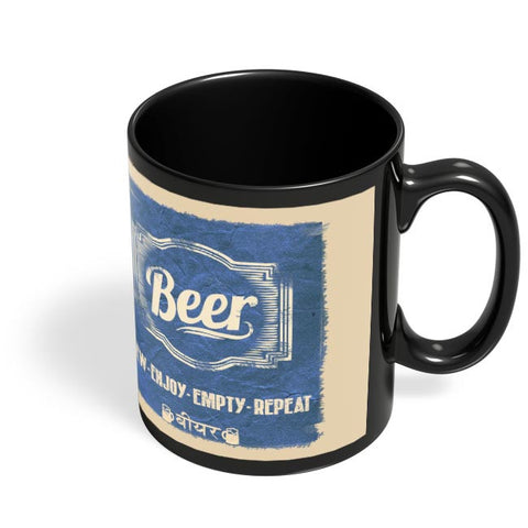 Coffee Mugs Online | BEER Black Coffee Mug Online India